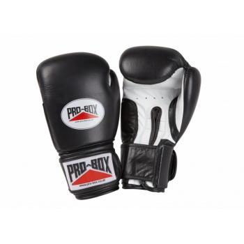 \'SUPER-SPAR\' LEATHER GLOVES - BLACK