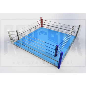 PRO Free Standing Boxing Ring - with mats