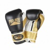 SPECIAL EDITION \'PRO-SPAR\' LEATHER GLOVES - BLACK/GOLD