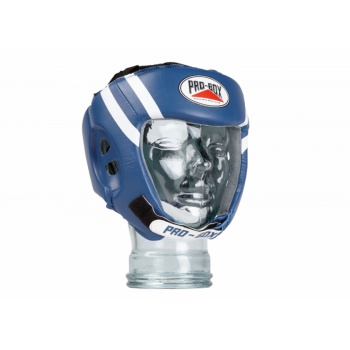 PU CLUB ESSENTIALS JUNIOR HEADGUARD BLUE
