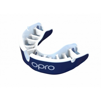 \'OPRO\' GOLD MOUTH GUARD (PEARL BLUE/PEARL)