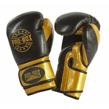 \'CHAMP SPAR\' GLOVES BLACK/GOLD