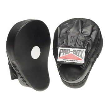 \'BLACK COLLECTION\' LTh/PU HOOK & JAB PADS