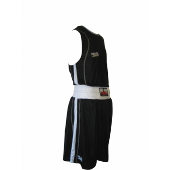 \'BODY TEC\' BLACK BOXING SHORT