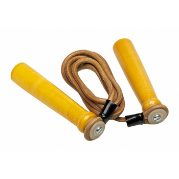 LEATHER SPEED ROPE.