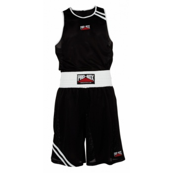 \'CLUB ESSENTIALS\' BLACK BOXING VEST