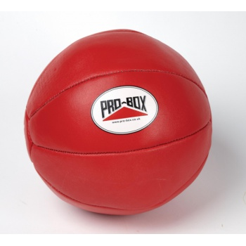 LEATHER MEDICINE BALL 4KG