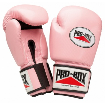 \'PINK COLLECTION\' PU GLOVES 10OZ