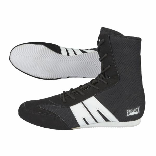 Pro Box Junior Boxing Boots White//Gold