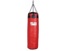 'RED COLLECTION' LEATHER COLOSSUS PUNCH BAG 4.5 FT.
