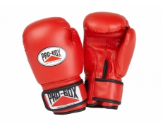 'BASE-SPAR' RED JUNIOR PU GLOVES
