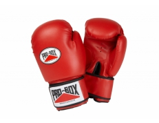 'BASE-SPAR' SENIOR PU GLOVES - RED