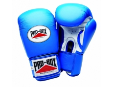 'SUPER-SPAR' LEATHER GLOVES - BLUE