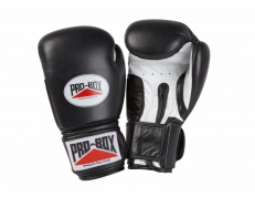 'SUPER-SPAR' LEATHER GLOVES - BLACK