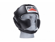 'SUPER-SPAR' LEATHER HEADGUARD - BLACK