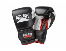 'PRO-SPAR' LEATHER GLOVES - BLACK