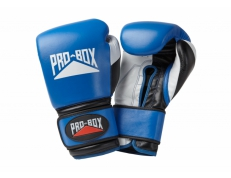 'PRO-SPAR' LEATHER GLOVES - BLUE