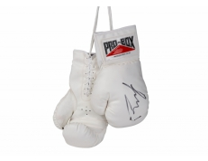 WHITE AUTOGRAPH GLOVES
