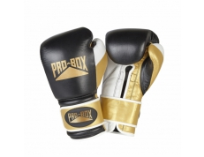 SPECIAL EDITION 'PRO-SPAR' LEATHER GLOVES - BLACK/GOLD