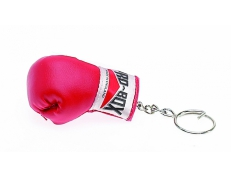 LEATHER BOXING GLOVE KEY RING