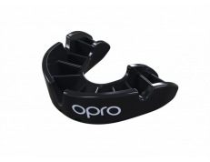 'OPRO' BRONZE MOUTH GUARD (BLACK)