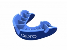 'OPRO' SILVER MOUTH GUARD (BLUE/LIGHT BLUE)