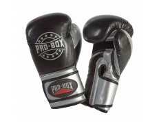 NEW 'CHAMP SPAR' GLOVES BLACK SILVER