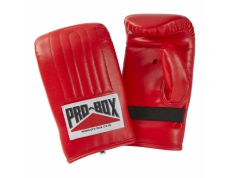 PU BAG MITTS - RED