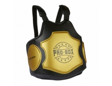 HI-IMPACT COACHES BODY PROTECTOR BLACK-GOLD.