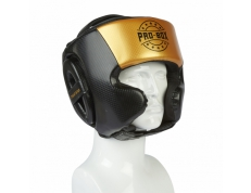 CHAMP SPAR HEAD GUARD BLACK-GOLD