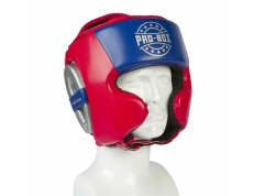 CHAMP SPAR HEAD GUARD RED-BLUE-SILVER