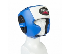 PRO-SPAR HEADGUARD - BLUE/WHITE/BLACK