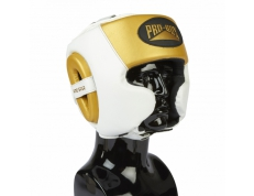 *NEW* PRO-SPAR HEADGUARD - WHITE/GOLD