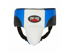 PRO-SPAR ABDO GUARD BLUE/WHITE