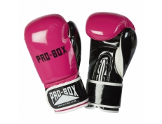 *NEW* CLUB SPAR GLOVES PINK-BLACK 8oz small