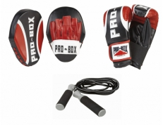 LOCKDOWN TRAINING SET: PADS, MITTS & ROPE
