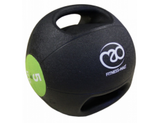 5KG DOUBLE GRIP MEDICINE BALL