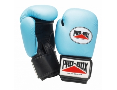 'BABY BLUE COLLECTION' LEATHER GLOVES 10OZ