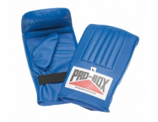 PU BAG MITTS - BLUE