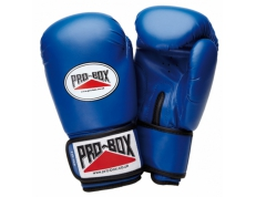 'BASE-SPAR' BLUE JUNIOR PU GLOVES