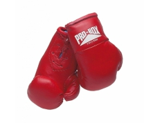 MINIATURE LEATHER BOXING GLOVES