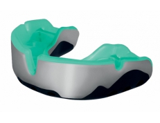 'OPRO' PLATINUM MOUTH GUARD (BLK/WHT/MINT)