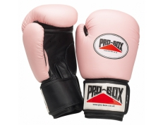'PINK COLLECTION' LEATHER GLOVES 10OZ