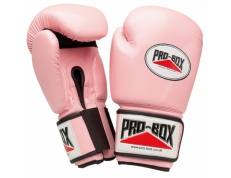 'PINK COLLECTION' PU GLOVES 10OZ