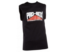 PRO-BOX BLACK MUSCLE TEE.