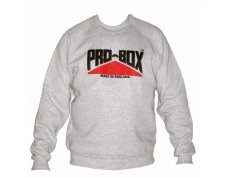 PRO-BOX GREY SWEAT TOP.