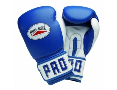PU CLUB ESSENTIALS BLUE SENIOR GLOVES