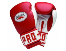 PU CLUB ESSENTIALS RED SENIOR GLOVES