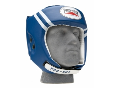 PU CLUB ESSENTIALS BLUE HEADGUARD