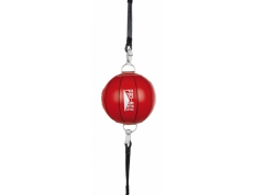 'RED COLLECTION' LEATHER TEN PANEL FLOOR TO CEILING BALL